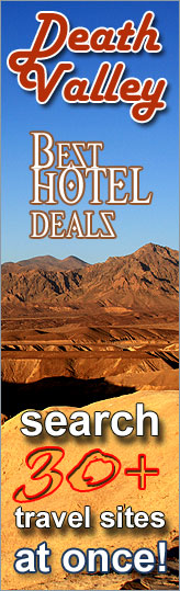 Best Hotel Deals in Death Valley Area - search over 30 travel sites at once