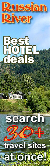 Best Hotel Deals in Russian River area, California - search over 30 travel sites at once