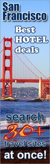 Best Hotel Deals in San Francisco, California - search over 30 travel sites at once