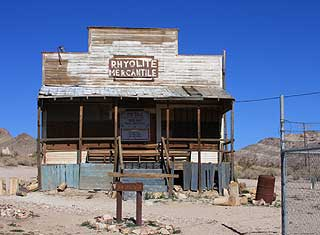 Death Valley - Rhyolite, Gold Well Museum