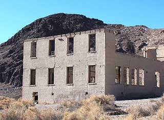 Death Valley - Rhyolite, Schoolhouse