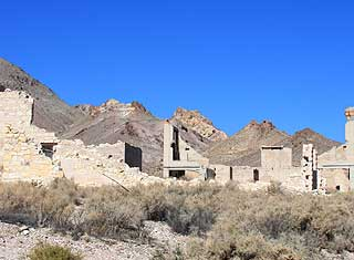 Death Valley - Rhyolite, ruins
