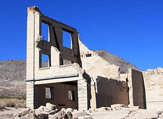 Death Valley - Rhyolite, Nevada Bank