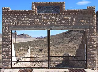 Death Valley - Rhyolite, Brothers Store